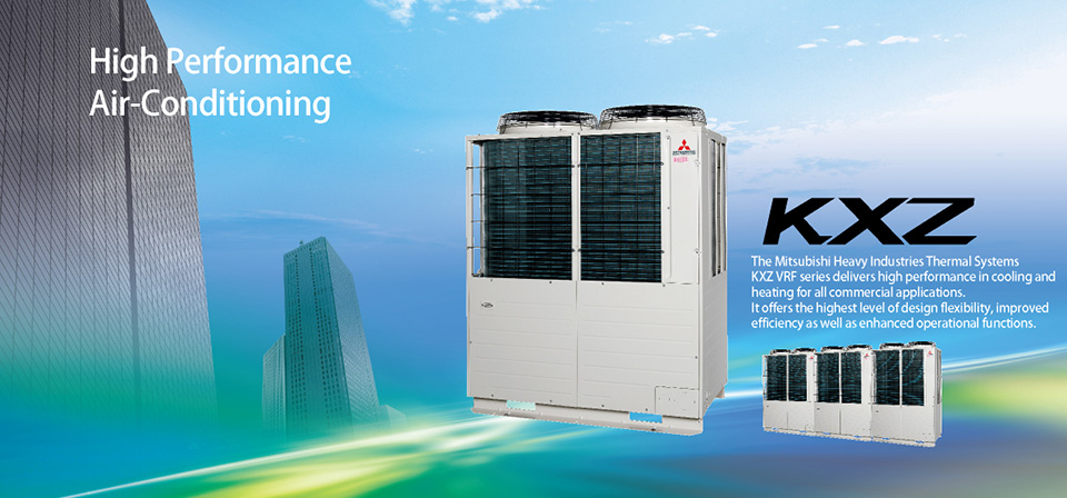 vrf inverter multi system air-conditioners (for europe, asia, 60hz